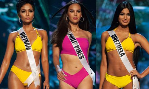 15 màn diễn bikini xuất sắc tại bán kết Miss Universe 2018