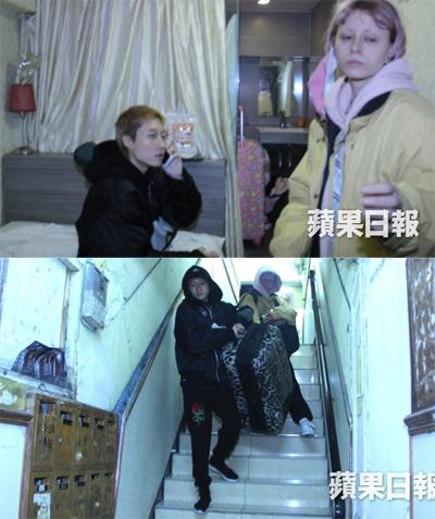 Ngô Trác Lâm gọi điện cầu cứu mẹ, sau đó kéo vali rời khỏi nhà trọ.