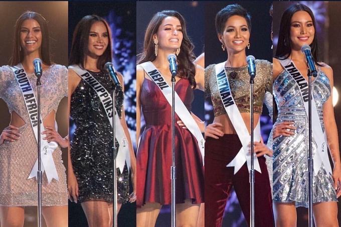 H'Hen Niê tỏa sáng tại chung kết Hoa hậu Hoàn vũ 2018