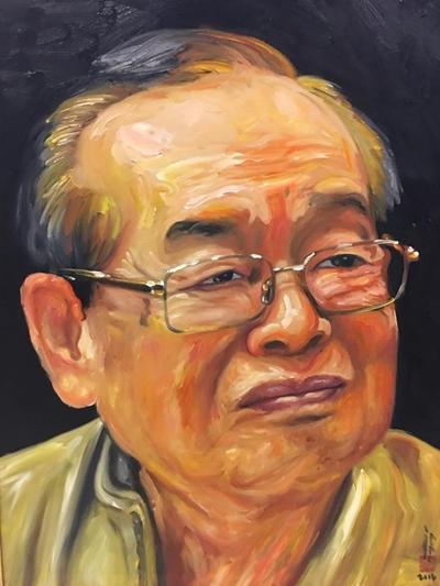 Thanh Tòng, Út Bạch Lan và hơn 100 nghệ sĩ qua tranh sơn dầu - 9