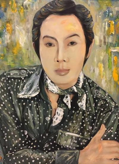 Thanh Tòng, Út Bạch Lan và hơn 100 nghệ sĩ qua tranh sơn dầu - 8