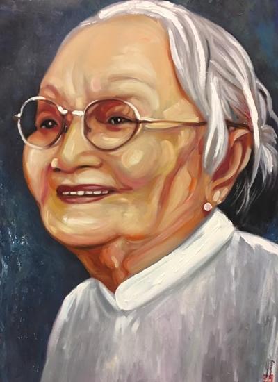 Thanh Sang, Út Bạch Lan và hơn 100 nghệ sĩ qua tranh sơn dầu - page 2 - 2