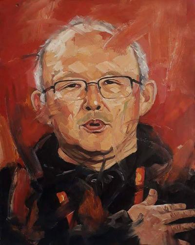 Bức tranh Người thầy của tôi.