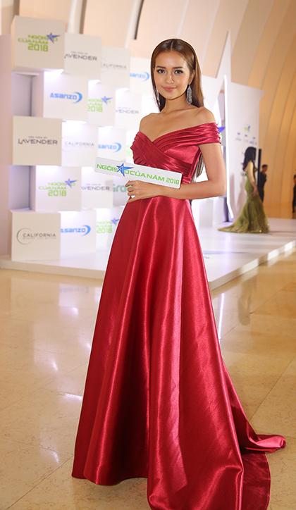 Hoa hậu Siêu Quốc gia 2018 Ngọc Châu.