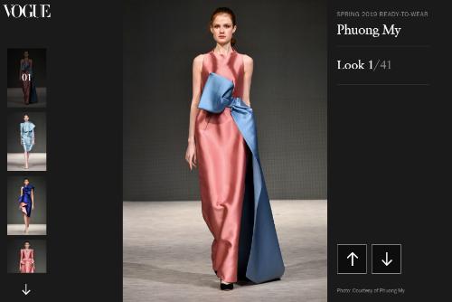 BST của Phương My xuất hiện trên tạp chí thời trang Italy và Trung Quốc - 3