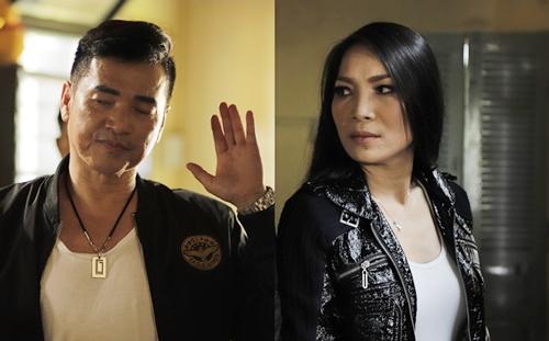 Hồng Ngọc và Quang Minh trong phim.