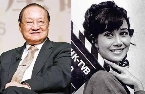 Nhà văn Kim Dung từng đánh giá Lâm Yến Ni(phải) là tác giả viết tản văn hiện đại hay nhất của Hong Kong