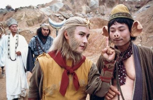 Nhân vật Trư Bát Giới (phải) gây nhiều tiếng cười trong phim.