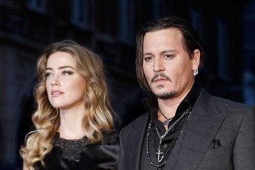 Amber Heard và Johnny Depp thuở còn bên nhau.