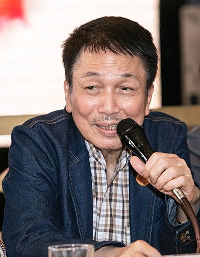 Nhac sĩ Phú Quang ở tuổi 69.