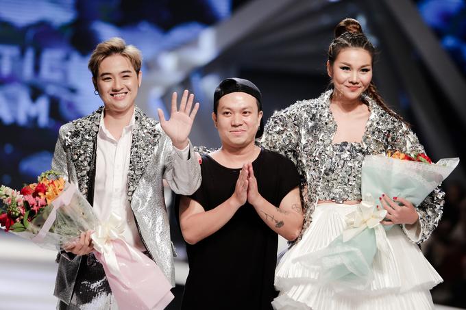 Thanh Hằng dẫn đầu đội 'Rich Kids' trong show Hà Nhật Tiến