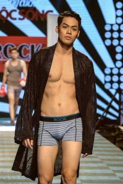 Người mẫu Hoàng Minh Giang