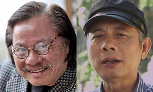Diễn viên Bùi Cường (trái) và đạo diễn Phạm Đông Hồng.