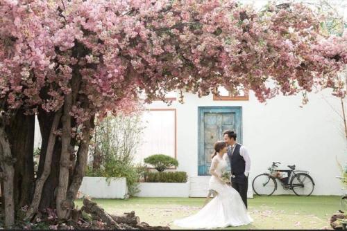 Ảnh cưới ở Hàn của rapper Đinh Tiến Đạt và cô dâu 9X - 6