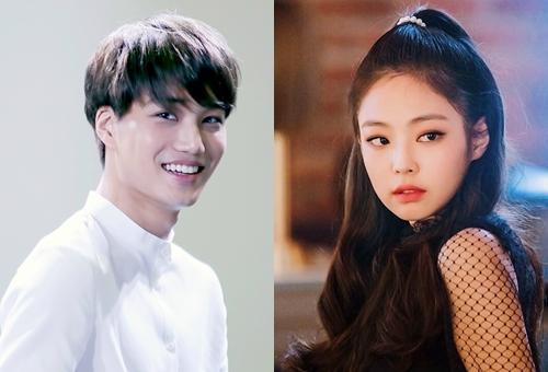 Kai (EXO) và Jennie (Black Pink) - cặp tình nhân mới của giới giải trí Hàn.