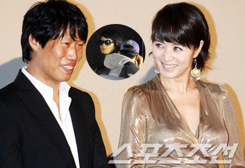 Sáng 1/1/2010, Kim Hye Soo và Yoo Hae Jin