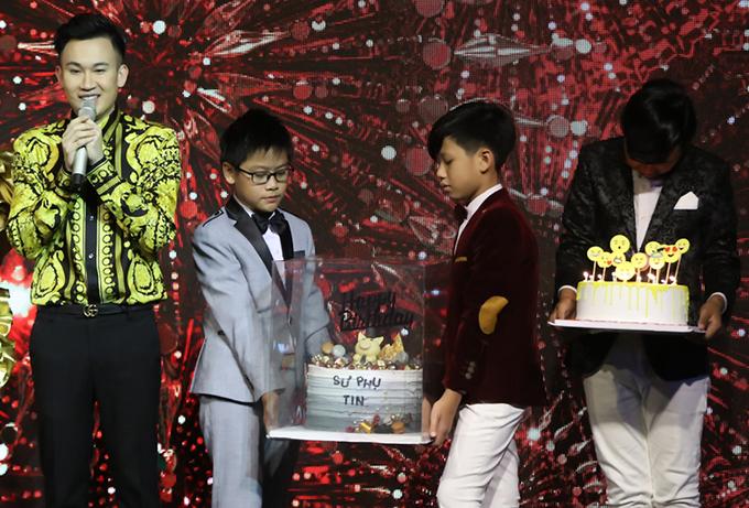 Dương Triệu Vũ đón tuổi 36 bên Đàm Vĩnh Hưng