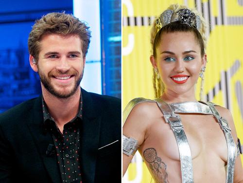 Miley nổi loạn những ngày xa Liam Hemsworth.