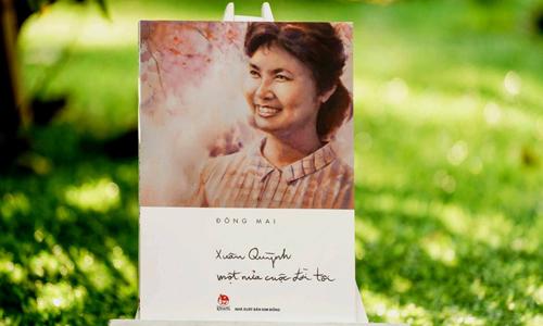 Bìa sách Xuân Quỳnh - một nửa cuộc đời tôi.