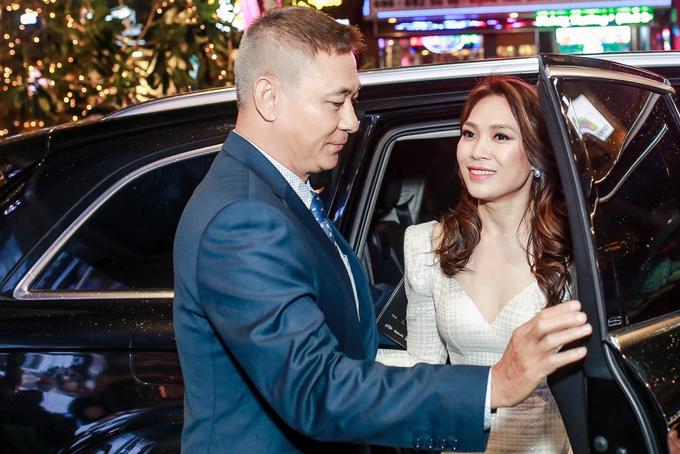 Ngô Thanh Vân, Đàm Vĩnh Hưng đi xem phim của Mỹ Tâm