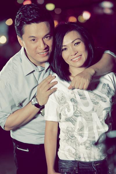 Ca sĩ Phương Thanh và Lam Trường.