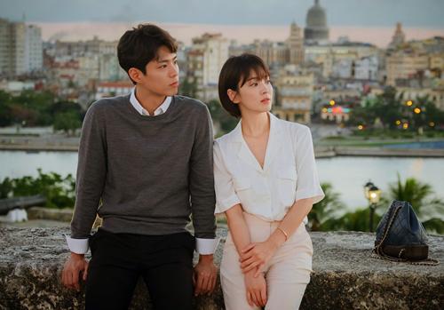Hye Kyo và Bo Gum trong Gặp gỡ.
