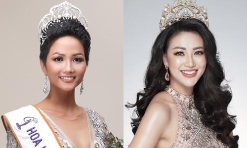 Hen Niê và Phương Khánh là hai người đẹp có thành tích tốt nhất trên đấu trường quốc tế,
