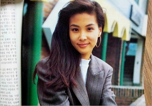 Nhan sắc thời thiếu nữ của bà xã Jang Dong Gun - 4