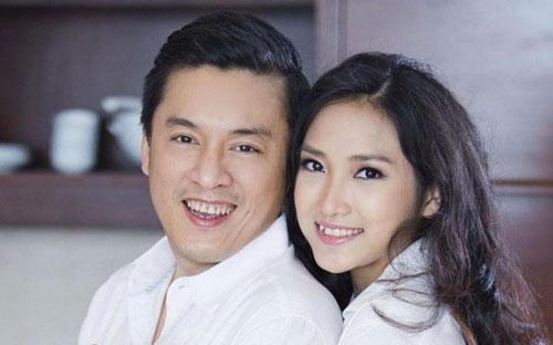 Ca sĩ Lam Trường và vợ Yến Phương.