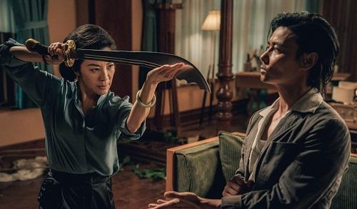 Dương Tử Quỳnh (trái) tái xuất vớidòngphim võ thuật kể từ Ngọa hổ tàng long 2 (2016).