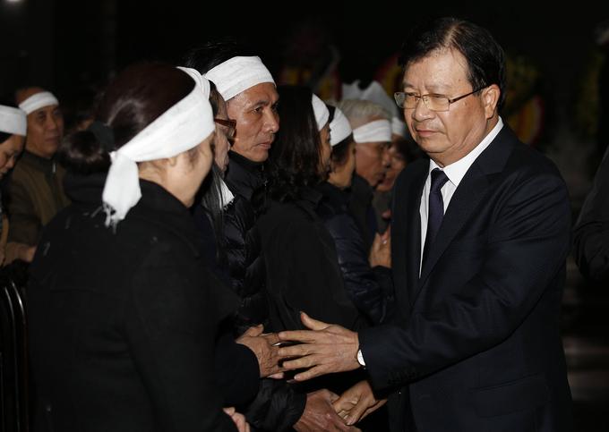 Gia đình, bạn bè tiễn đưa nhạc sĩ Nguyễn Trọng Tạo