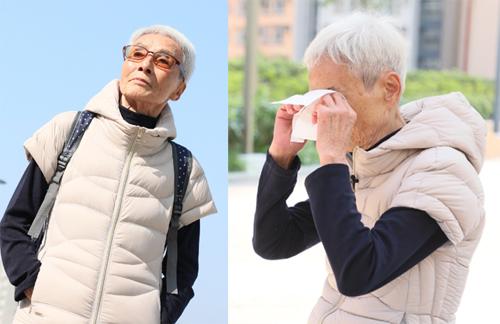 Bà Lương Ái khóc khi nói về cảnh kẻ đầu bạc tiễn ngườiđầu xanh.