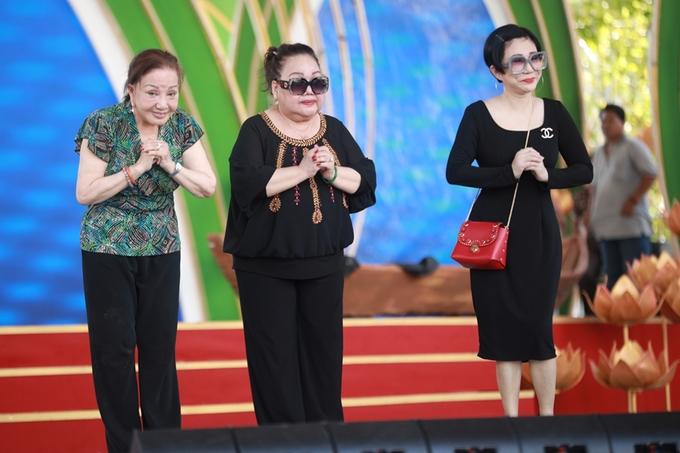 Minh Vương, Lệ Thủy hội ngộ dàn nghệ sĩ cải lương 'thế hệ vàng'