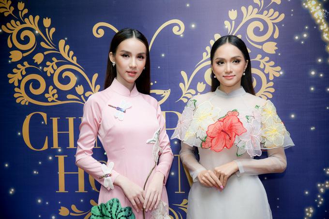 'Thiên thần chuyển giới' Thái Lan đọ sắc bên Hoa hậu Hương Giang