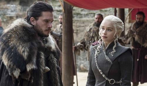 Jon Snow và Mẹ Rồng Daenerys.