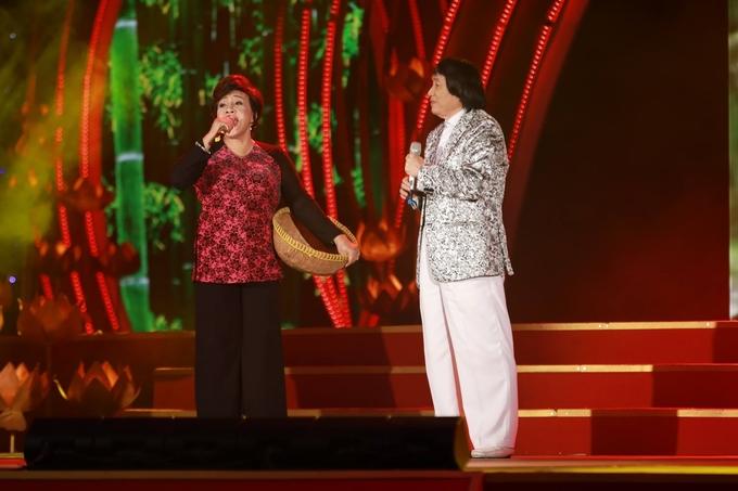Minh Vương, Lệ Thủy song ca trước hàng nghìn khán giả