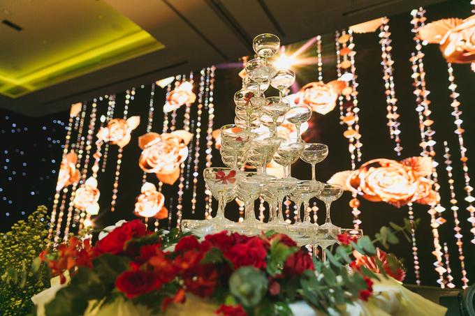 Không gian cưới chủ đề 'Thiên đường hai ta' của Võ Hạ Trâm