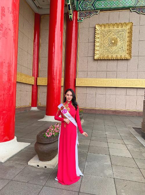 Thu Hoàng toả sáng trong trang phục áo dài của nhà thiết kế Ngô Nhật Huy (xin bài edit) Linhbd - 3