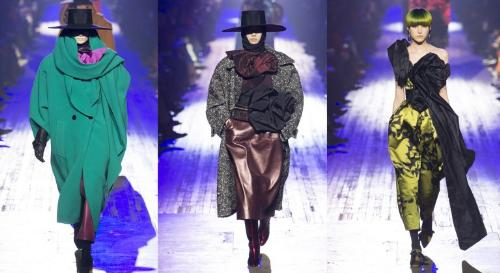 Không chịu kém cạnh, nhà Marc Jacobs lại đưa ra một thông điệp thời trang đầy mạnh mẽ: Không chạy theo xu hướng, chỉ có đam mê mới tạo nên được sự khác biệt. BST của Marc Jacobs lấy cảm hứng từ phong cách thập niên 80 của thế kỷ trước, với những chi tiết áo vai độn, thắt lưng to bản, quần baggy hay thêu hoa ở cổ áo&gây ấn tượng với giới mộ điệu. BST mang cảm hứng từ thập niên 80 của Marc Jacobs tại NYFW 2018