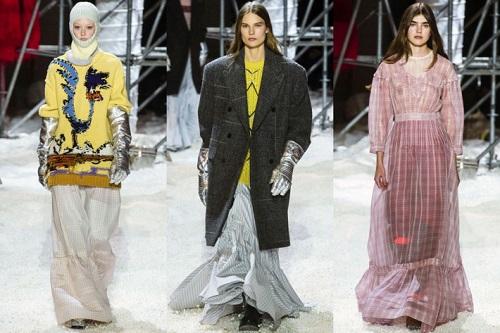 Tuần lễ thời trang New York Thu Đông 2018 đánh dấu sự sáng tạo từ nhà thiết kế hàng đầu của Calvin Klein Raf Simons. BST của Calvin Klein giữ nguyên chất Mỹ trẻ trung, phóng khoáng, thực dụng kết hợp hài hòa cùng sự tinh tế đong đầy cảm xúc. Những chiếc áo sơ mi có nắp túi vẫn xuất hiện trong cả 2 lần hiện diện của Raf tại NYFW, nhưng được làm mới bằng cách phối màu, chất liệu trẻ trung, hiện đại.
