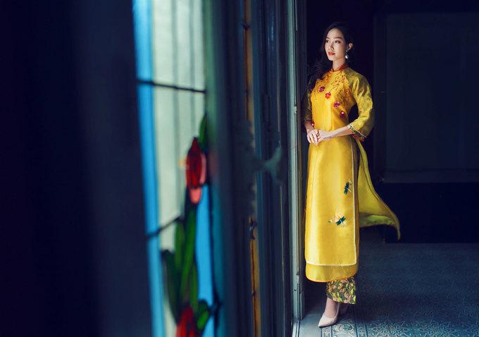 Top 5 Hoa hậu Việt Nam 2018 diện áo dài sắc xuân