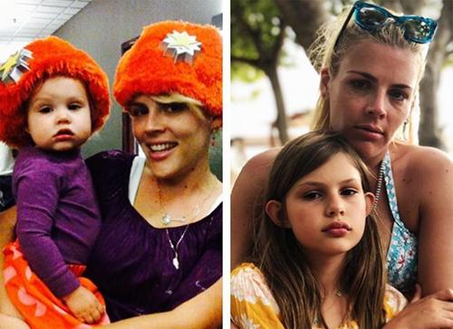 Busy Philipps và con gái sau 10 năm.