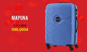 House Of Luggage giảm giá vali từ 599.000 đồng đón Tết