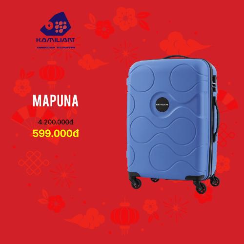 Kamiliantnổi tiếng với những chiếc vali kéo cá tính,màu sắc ấn tượng giúpcác chuyến du lịch của giới trẻ thêm màu sắc vàthú vị. Sản phẩm bảo hành quốc tế 12 tháng.