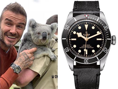 David Beckham từng bỏ ra 3.900 USD (90 triệu đồng) để sở hữu chiếc đồng hồTudor Black Bay.