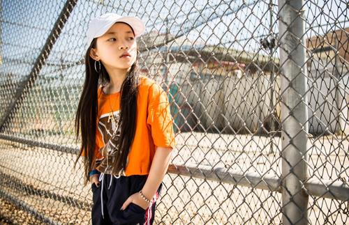 Amy Zhu năm nay 10 tuổi và say mê hip hop.