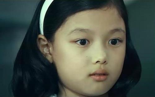 Vẻ bầu bĩnh của  Kim Yoo Jung trong phim điện ảnh Haeundae năm 2009.