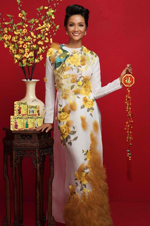 Top 5 Hoa hậu Hoàn vũ thế giới 2018 cho biết Café PHỐ là món quà cô chọn trong dịp Tết này.