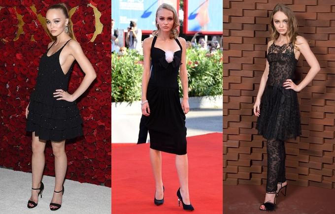 Gu mặc đa dạng của con gái Johnny Depp