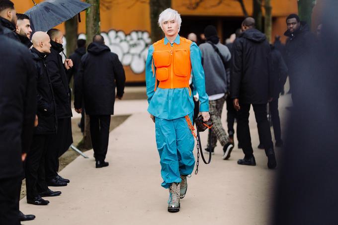 Lý Quí Khánh xem show Louis Vuitton ở Paris Fashion Week